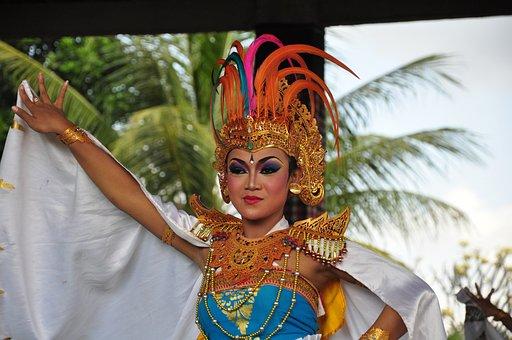Bali, Dancer, Traditionally, Dance Sideshow