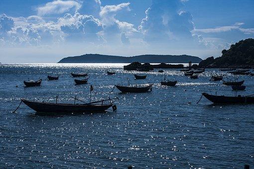 Vietnam, Travel, Lanscape, Culaocham, Sunset, Photos