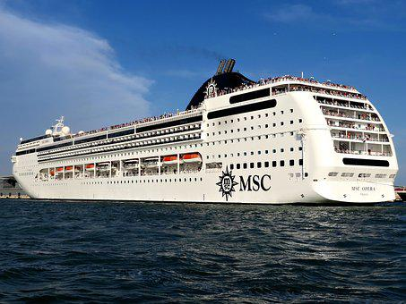 Cruise Liner, Venice, Cruise, Liner, Ship, Travel, Sea