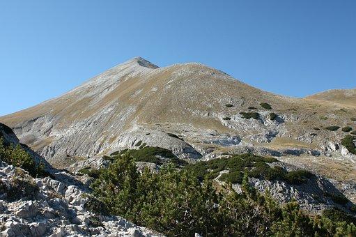 Pirin, Kutelo, Landscape, Autumn, Rock, Vihren