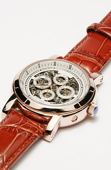 Wrist Watch, Gold, Golden, Watches, Chronometer