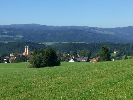 St Mar Gene, Abbey Village, Hochschwarzwald