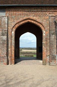 Sissinghurst Castle, Barn, Arcade, Arched Openings