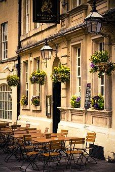 Bath, Avon, Pub, Garricks Head, Somerset, Architecture
