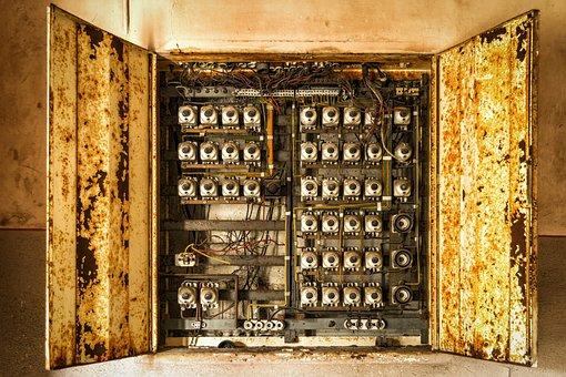 Elektrik, Backup, Box, Lost Places, Electricity
