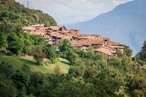 Italy, Village, Bergdorf, Medieval Village