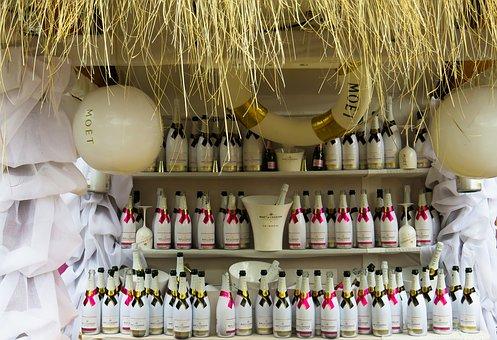 Champagne, Drink, Sparkling Wine, Bottles