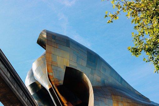 Museum, Art, Architecture, Building, Seattle