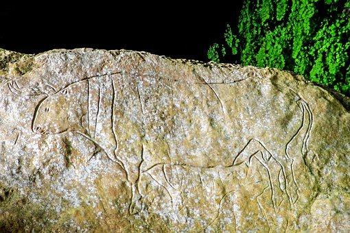 Cave Of The Hermit, Graffiti, Paleolithic