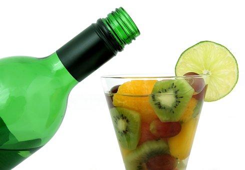Alcohol, Bar, Bottle, Champagne, Closeup, Cocktail