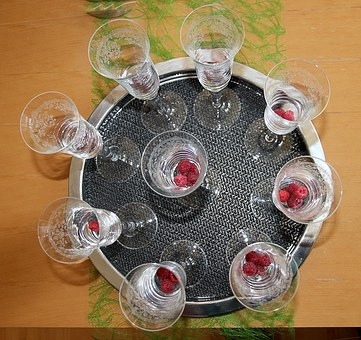 Soaked, Glass, Champagne, Sparkling, Celebration, Cup