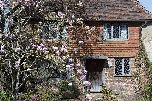 Cottage, Old Brickwork, Tile Hanging, Oak Door