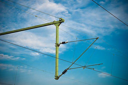 Current, Power Line, Energy, Electricity, Technology