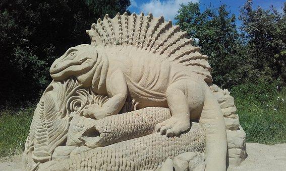 Lizard, Dinosaur, Reptile, The Prehistoric, Prehistory