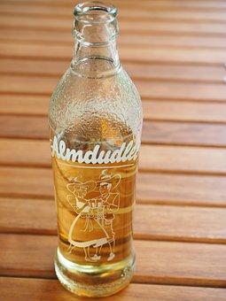 Almdudler, Bottle, Abut, Drink, Lemonade
