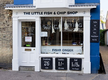 Old Fashioned, Fishmonger, Pre-decimal Prices