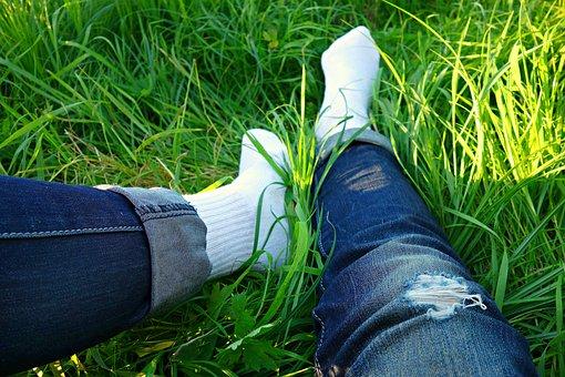 Leg, Foot, Body, Body Part, Legs, Feet, Female, Sock