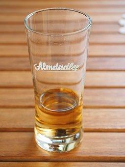 Almdudler, Glass, Abut, Drink, Lemonade