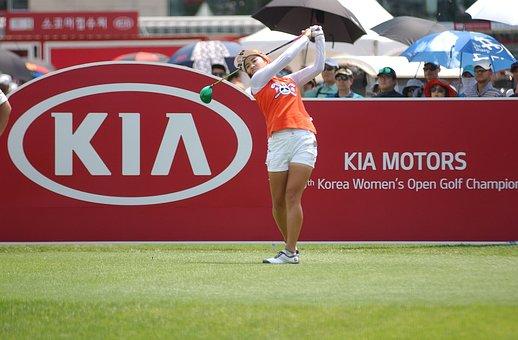 Golf, South Korea Women's Open, Positive Gene, Driver