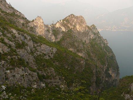 Mountains, Garda, Hiking Tour, Val Sperone