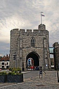 Westgate, Canterbury, Historic, Kingdom, Landmark