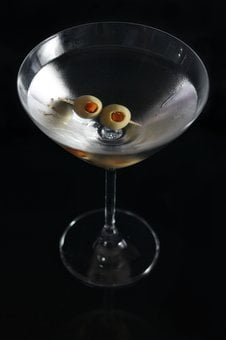 Drink, Martini, Ice, Glass, Alcohol, Cocktail, Bar