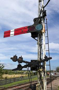 Railway Semaphore Signal, Kent East Sussex Railway