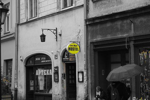 Lost Places, Krakow, Hostel, Pub, Mysterious, Gloomy
