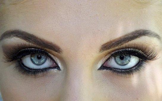 Eye, Blue, Gene, Seductive, Makeup