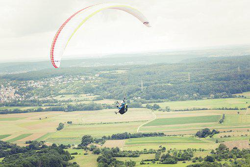 Paragliding, Sport, Fly, Parachute, Freedom, Float