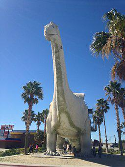 Dinosaur, California, Prehistoric, Tourism, Vacation