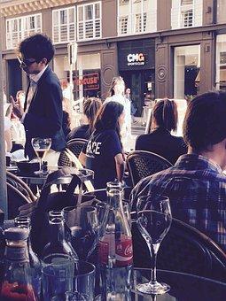 Outdoor Bar, Happy Hour, Pub, Cafe, Happy, Bar, Drink