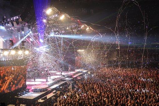 Concert, Music, Rock 'n' Roll, Heavy Metal, Kiss, Rock