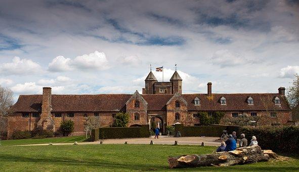 Sissinghurst, Castle, Sissinghurst Castle, Kent, Tudor