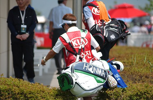 Golf, South Korea Women's Open, Positive Gene, Caddy