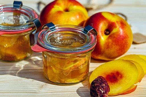 Jam, Nectarine, Stone Fruit, Preparation, Cook, Summer