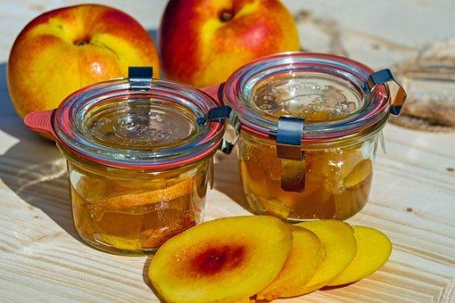 Jam, Nectarine, Stone Fruit, Cook, Preparation, Summer