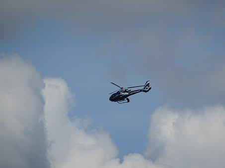 Helicopter, Clouds, Technology, Weather, Thunderstorm