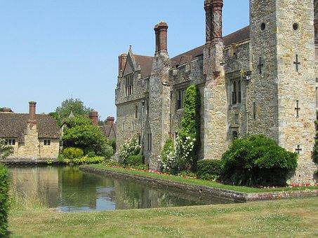 Hever Castle, Uk, Tourist, Boleyn, Tudor, Kent, Royal