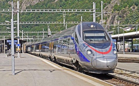 Ice, Geneva-milano, Trenitalia, Brig, Valais