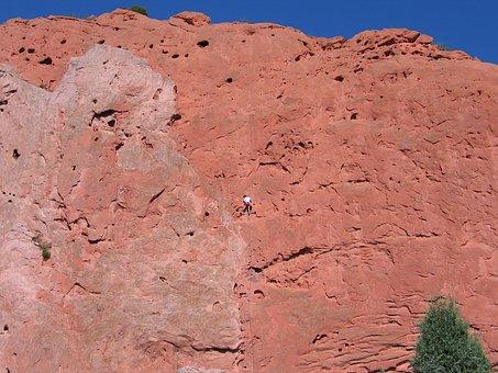 Climber, Rocks, Park, Extreme, Adventure, Mountain