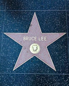Walk Of Fame, Bruce Lee, Los Angeles, Usa, America