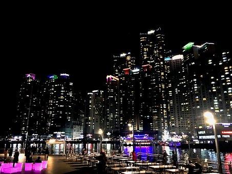 Night View, Tabitha, The Bay 101, Busan, Atmosphere