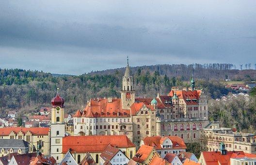 Castle, Sigmaringen, Hohenzollern Castle