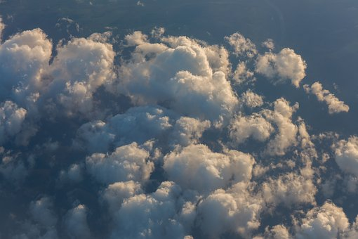 Clouds, Sky, Above, Aerial, Fly, Flying