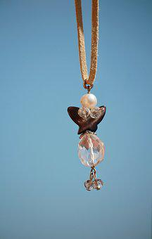 Pendant, Necklace, Fly, Angel, Ali, Fashion, Passion