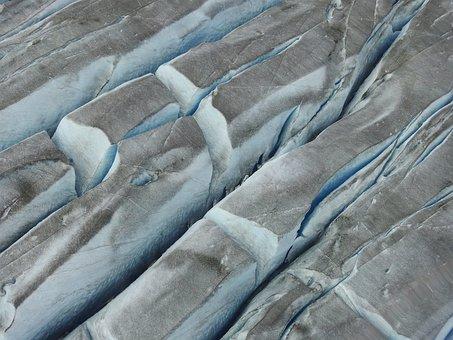 Taku Glacier, Crevasses, Glacier, Alaska, Blue, Ice