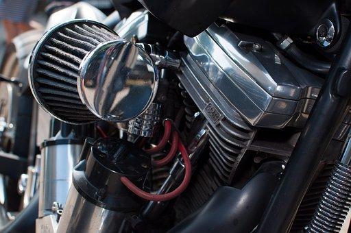 Air Filter, Harley Davidson, Motor, Motorcycle