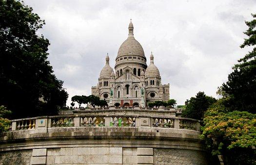 The Basilica, France, Sacre Coeur, Paris, Temple