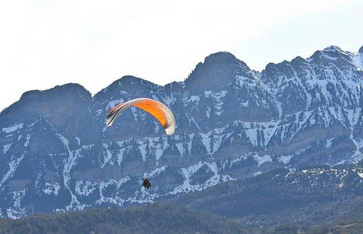 Sport, Athlete, Paragliding, Risk, Sports, Adventure